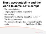 trust accountability and the world to come let s scrap
