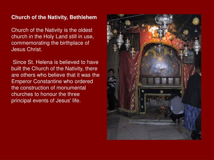 Church of the Nativity, Bethlehem