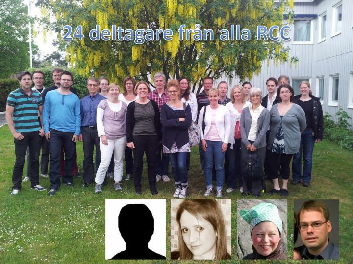 24 deltagare från alla RCC