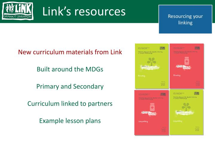 Link's resources