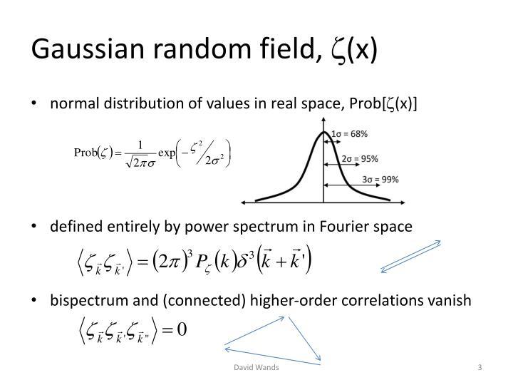 Gaussian random field,