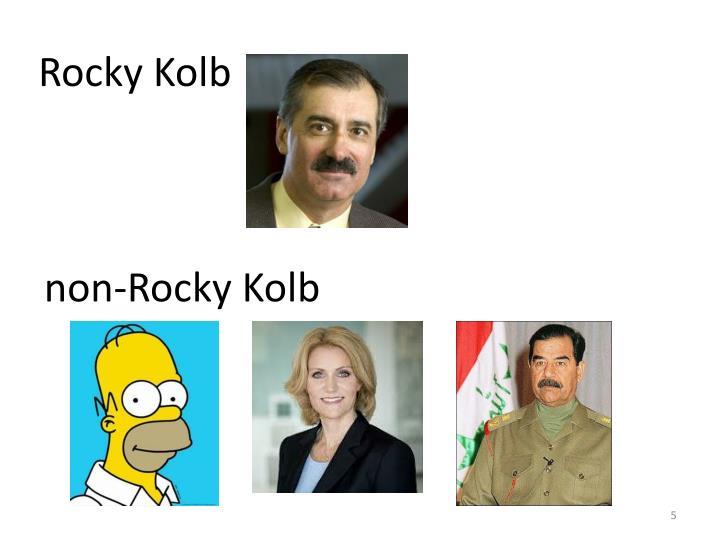 Rocky Kolb