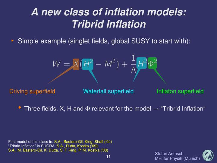A new class of inflation models:
