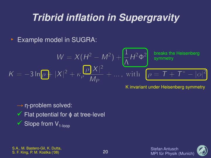 Tribrid inflation in Supergravity