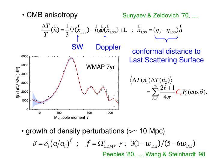 CMB anisotropy