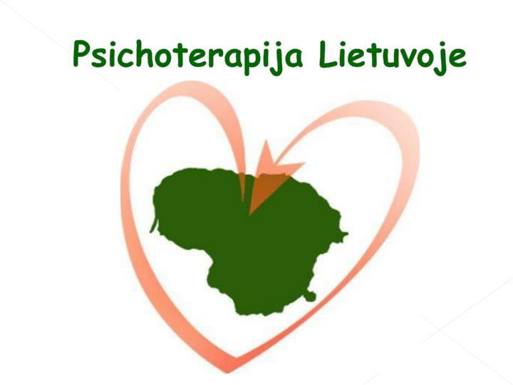 Psichoterapija Lietuvoje