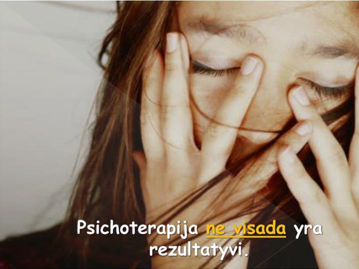 Psichoterapija