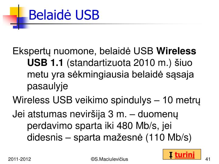 Belaidė USB