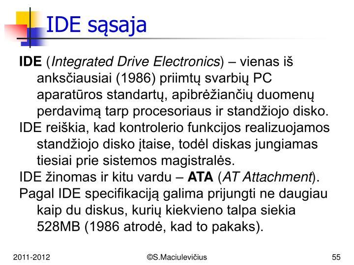 IDE s