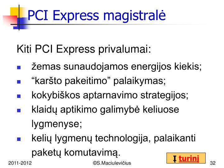PCI Express magistralė