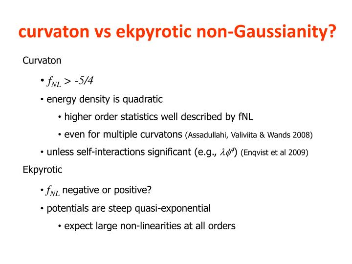 curvaton vs ekpyrotic non-Gaussianity?