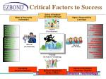 critical factors to success