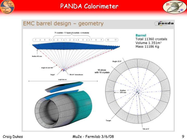 PANDA Calorimeter