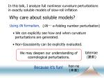why care about soluble models