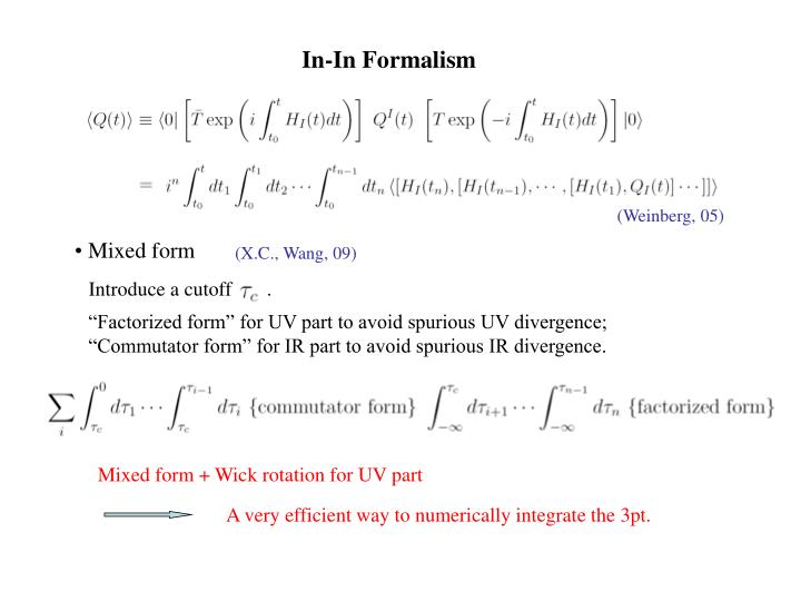 In-In Formalism