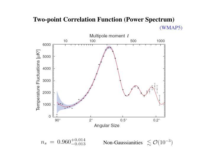 Two-point Correlation Function (Power Spectrum)