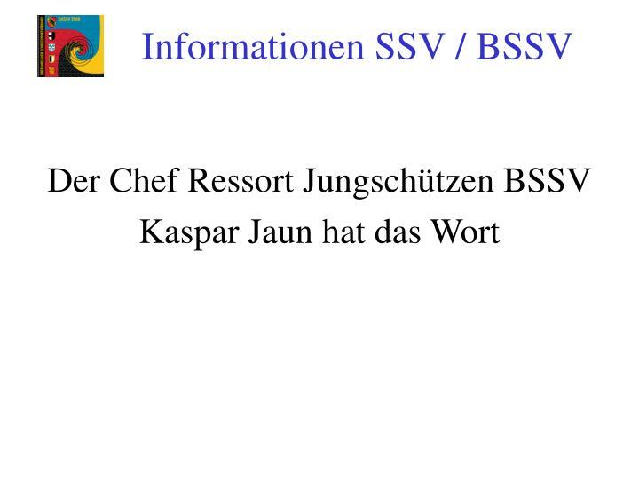 Der Chef Ressort Jungschützen BSSV