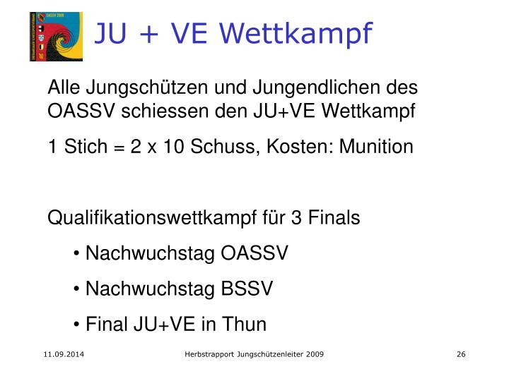JU + VE Wettkampf