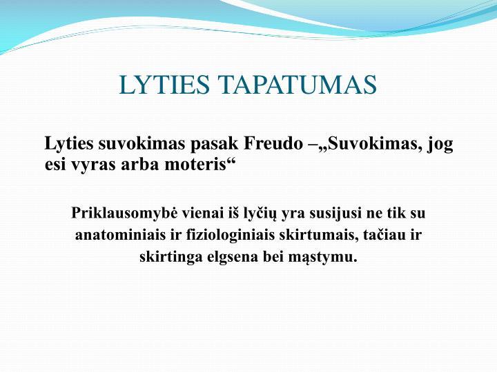 LYTIES TAPATUMAS