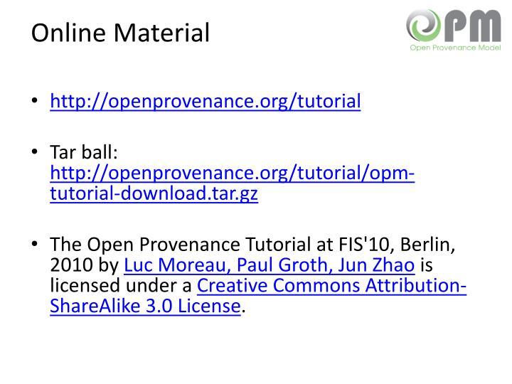 Online Material