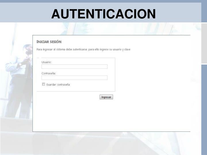 AUTENTICACION