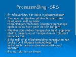 prosessm ling srs