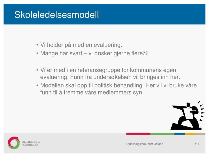 Skoleledelsesmodell