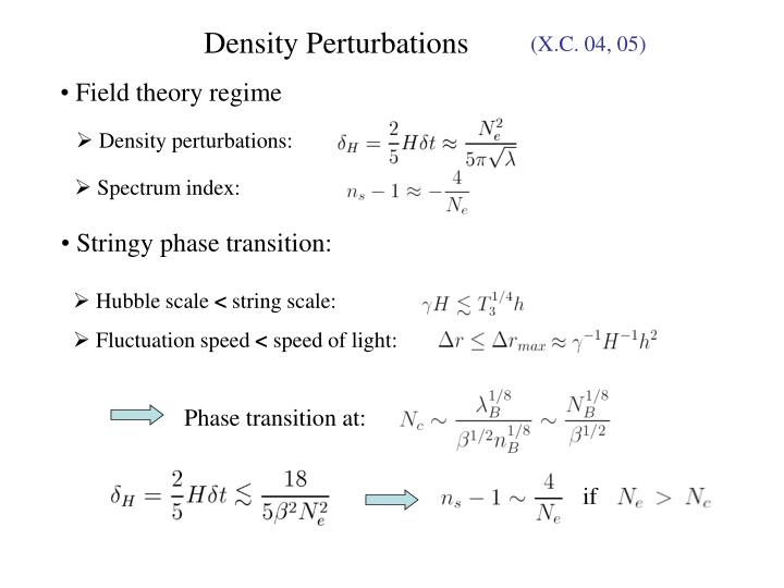 Stringy phase transition: