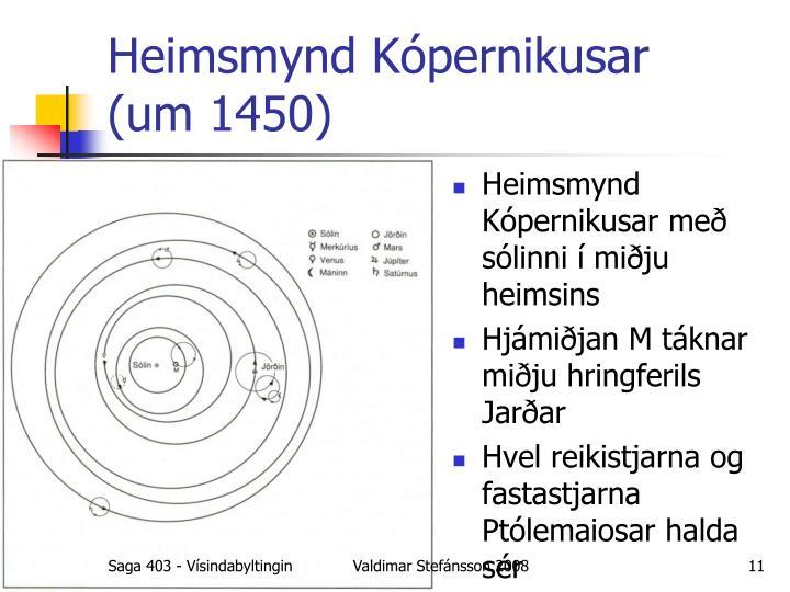 Heimsmynd Kópernikusar