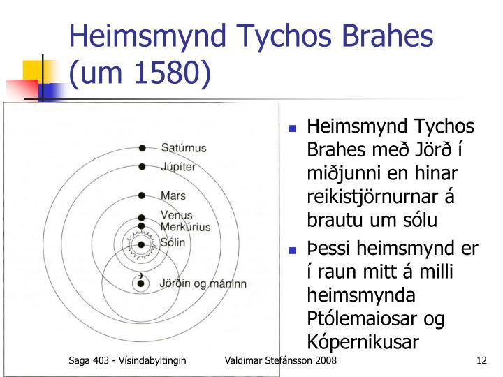 Heimsmynd Tychos Brahes
