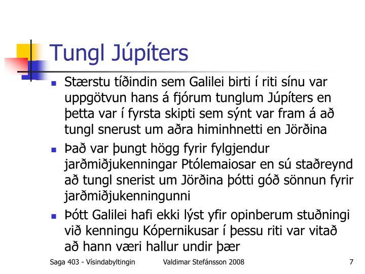 Tungl Júpíters