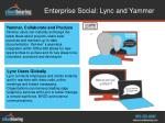enterprise social lync and yammer1