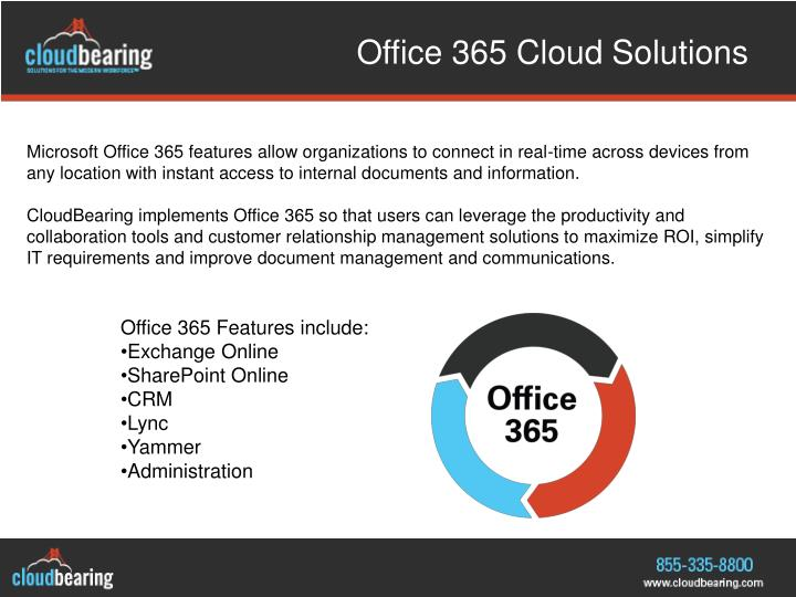 Office 365 cloud solutions