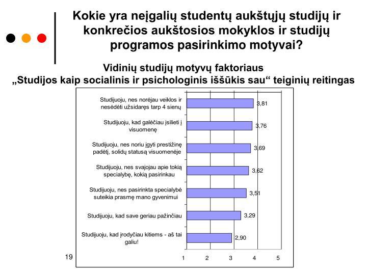 Kokie yra neįgalių studentų aukštųjų studijų ir konkrečios aukštosios mokyklos ir