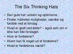 the six thinking hats6
