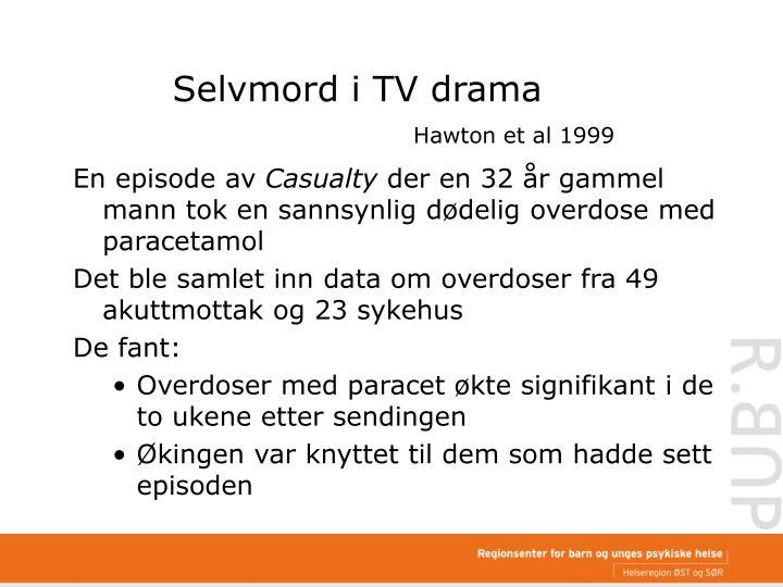 Selvmord i TV drama
