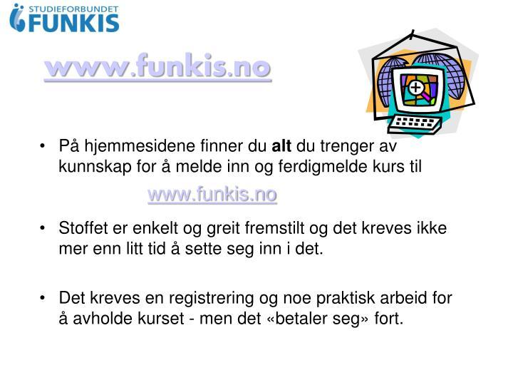 www.funkis.no