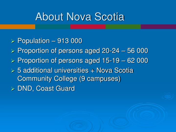 About Nova Scotia