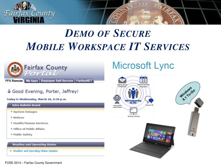 Demo of Secure