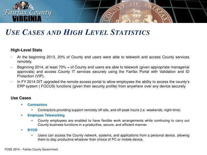 High-Level Stats
