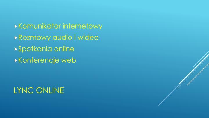 Komunikator internetowy