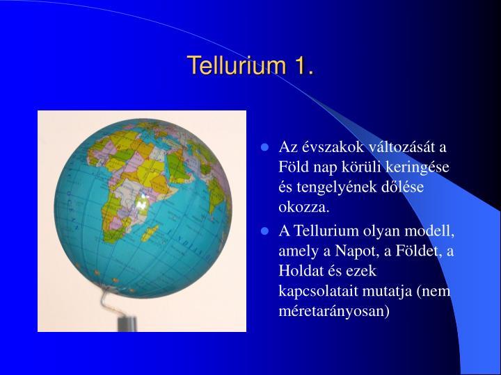 Tellurium 1.