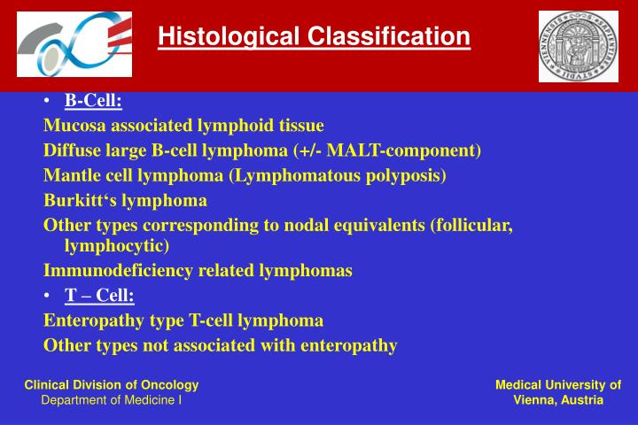 Histological Classification