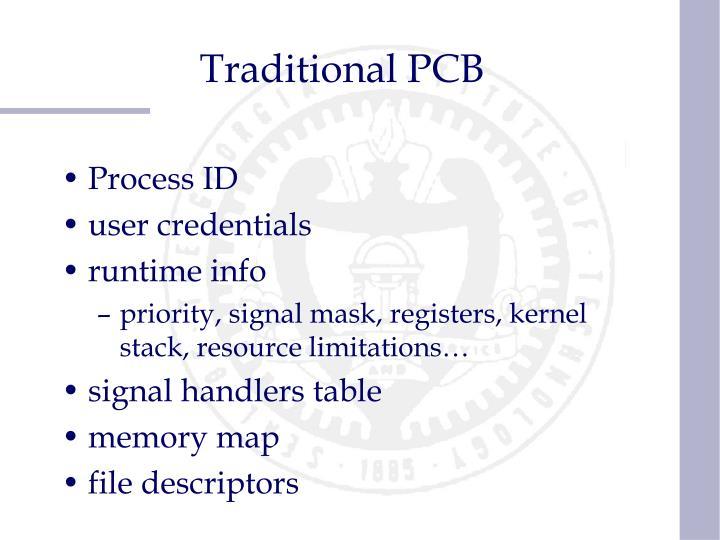 Traditional PCB