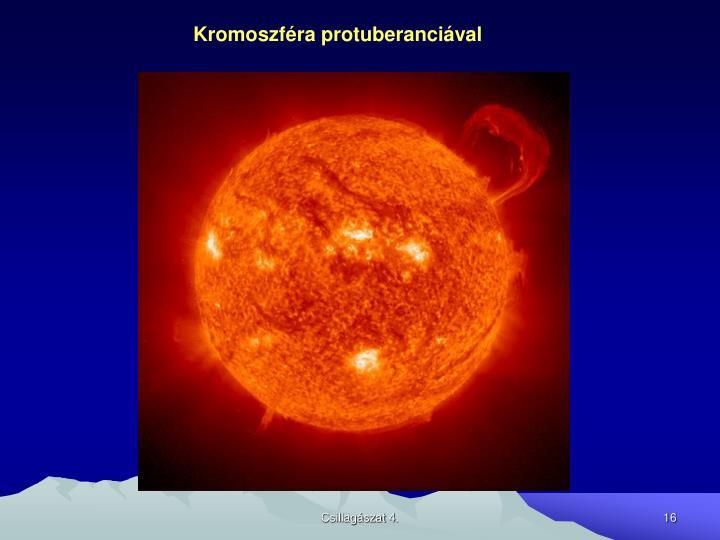 Kromoszféra protuberanciával