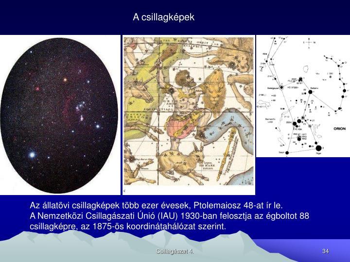 A csillagképek