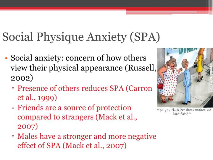 Social Physique Anxiety (SPA)