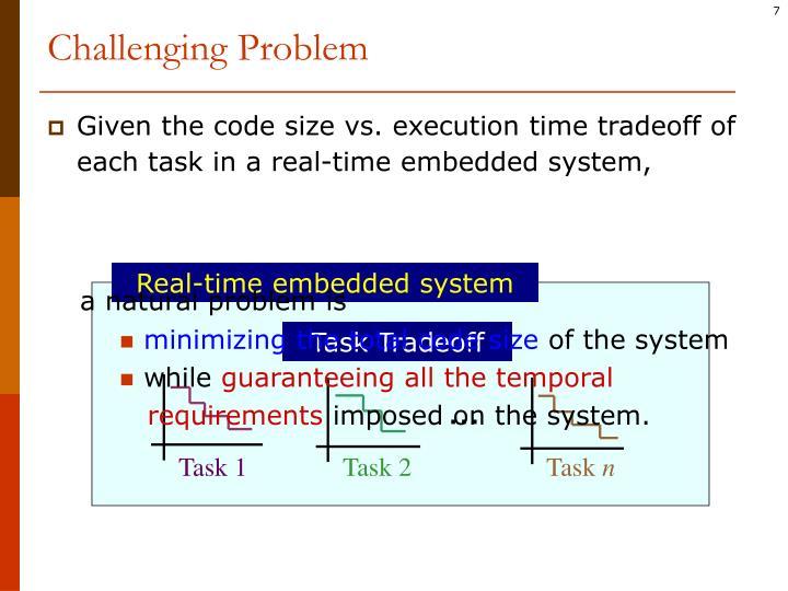 Challenging Problem