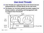 user level threads
