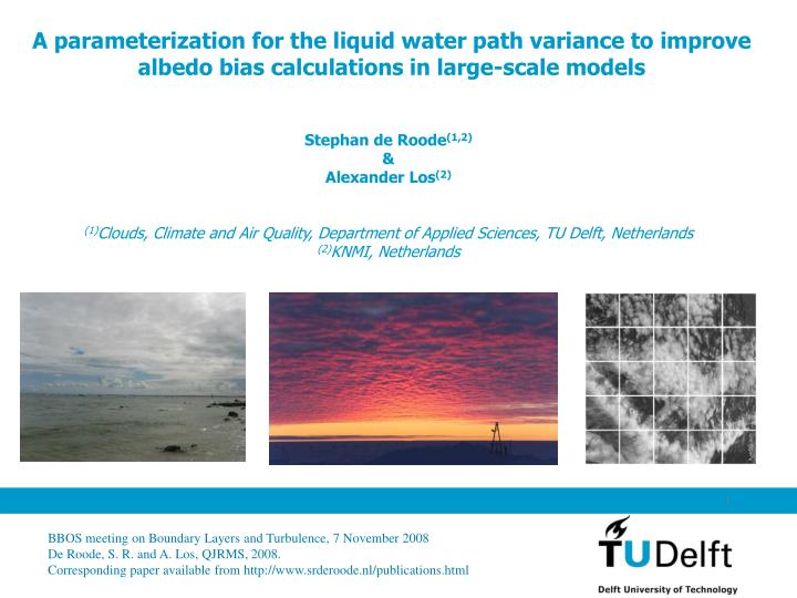 A parameterization for the liquid water path variance to improve albedo bias calculations in large-s...